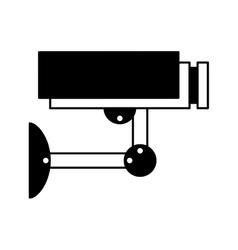 Camera cctv isolated icon vector