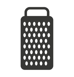cheese grater isolated icon design vector image