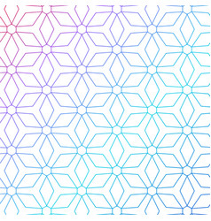 colorful geometric lines pattern background vector image