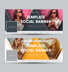 Design of a cover for social networks with vector