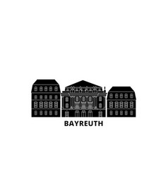 Germany bayreuth margravial opera housebayreuth vector