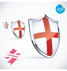 I Love England Flag vector