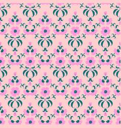 modern damask pattern vector image