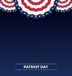 Patriot day web banner and background design vector