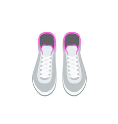 Sneakers icon in flat style vector