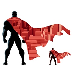 Superhero Abstract vector image
