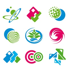 various symbols vector image