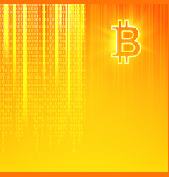 Virtual currency background cryptography currency vector