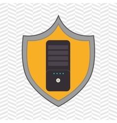 symbol control remote tv vector image vector image