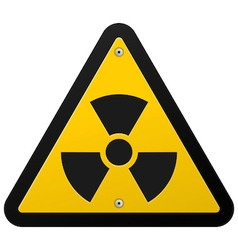 Nuclear Radiation Symbol vector image vector image