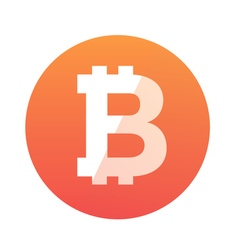 Bitcoin logo vector
