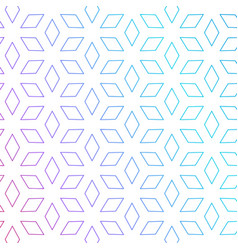Cute rhombus shape pattern background minimal vector