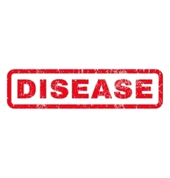 Disease Rubber Stamp vector image