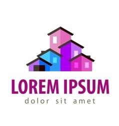 House logo design template construction or vector