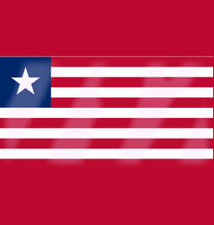 Liberia flag vector