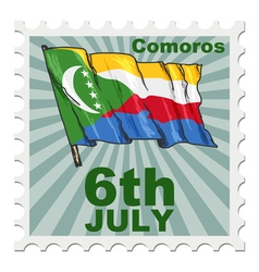 national day of Comoros vector image