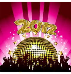 New year party background vector