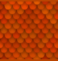 seamless pattern with roof tile vector image