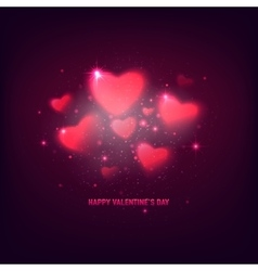 stylish valentines day vector image