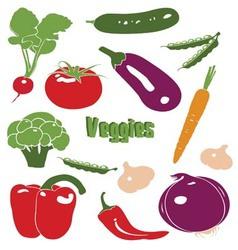 veggiemotif vector image