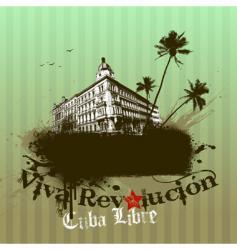 viva revolution illustration vector image vector image
