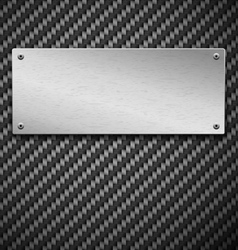 Carbon fiber seamless background vector