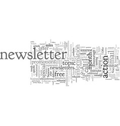 Convert your newsletters into immediate cash vector