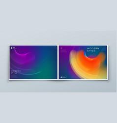 dark horizontal liquid abstract cover background vector image