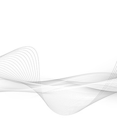 Halftone grey abstract swoosh line modern layout vector