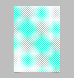 halftone square background pattern page template vector image