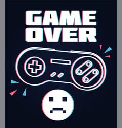 Joysticks gamepad vector