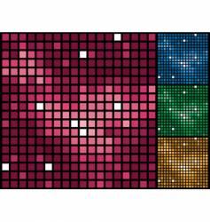 purple tiles background vector image