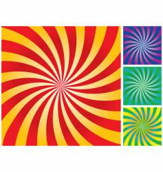 rays gradient background vector image vector image