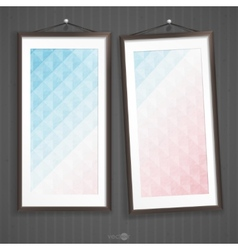 Two Frames Of Picture vector image