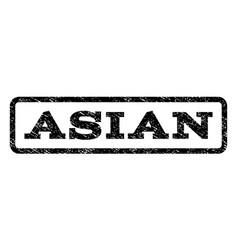 asian watermark stamp vector image vector image