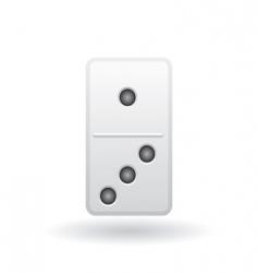 domino icon vector image vector image