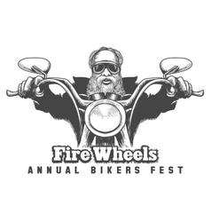 Bikers Festival Emblem vector image