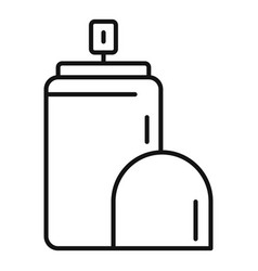 Care deodorant icon outline style vector