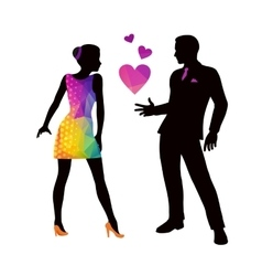 Dating vector image