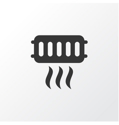 Heating icon symbol premium quality isolated vector