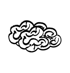 Human brain mind vector