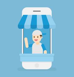 online store e-commerce vector image