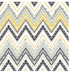 retro chevron background vector image