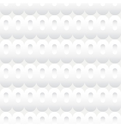 Shades of White Ovals Seamless Background Tile vector image
