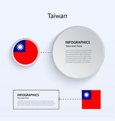 Taiwan Country Set of Banners vector image