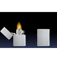 lighter vector image vector image