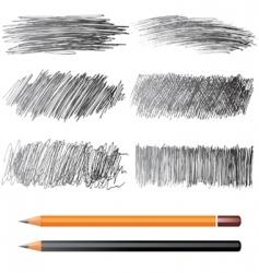 pencil drawings vector image