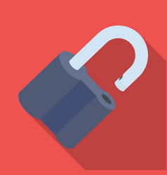 padlock hacked the challenge for the pathfinder vector image vector image