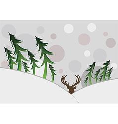 Winter Card vector image