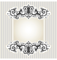 7floral line 76 1 vector image